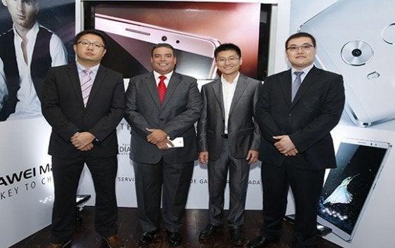 Huawei presenta smartphone Mate 8 con batería larga duración y carga rápida