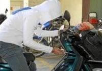 Policía Nacional apresa tres ladrones de motocicletas