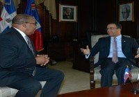 Cancilleres Haití y RD retoman dialogo en Santo Domingo