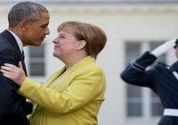 Obama en Alemania elogia a Merkel por papel con refugiados