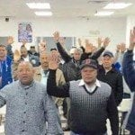 Frente de Taxista del PRM juramentó nuevos miembros