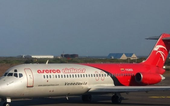 Aserca Airlines reafirma «error involuntario» aterrizaje avión San Isidro