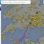No hay noticias sobre emergencia avión devuelto a Londres