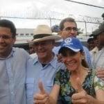Carolina, Hipolito y David Collado en mano-a-mano en la capital