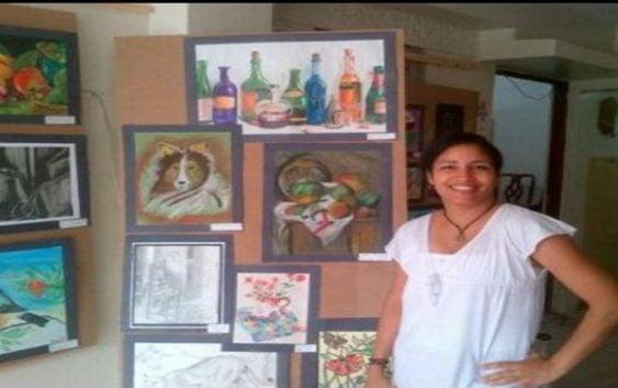 Estudiantes Escuela Martha Peralta exponen «El Color de la Sombra»