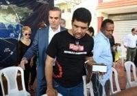 Abinader logra levanten huelga; caminan hacia Junta Electoral