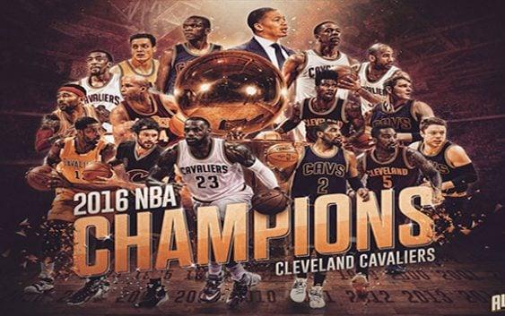 Los Cleveland Cavaliers campeones de la NBA 2016