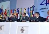 OEA agradece a República Dominicana por éxito 46va. Asamblea General