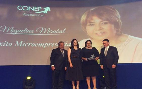 CONEP reconoce éxito micro-empresarial de Repostería Miguelina