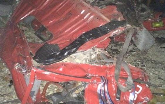 Aumenta a 16 los muertos por accidente en Nagua