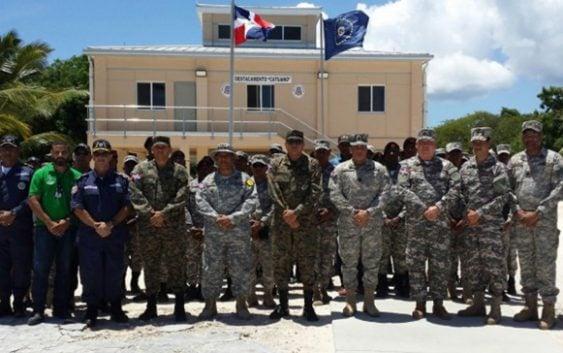 La Armada inauguró destacamento de Catuano, Isla Saona