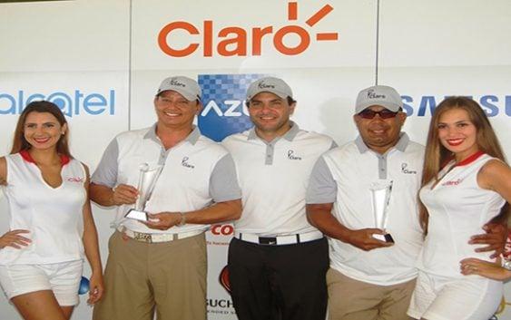 Rafael Pérez y Enrique Rodríguez ganan Parada del Tour Claro de Golf