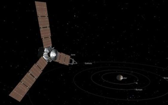 La NASA celebra jubilosa llegada de Juno a Jupiter
