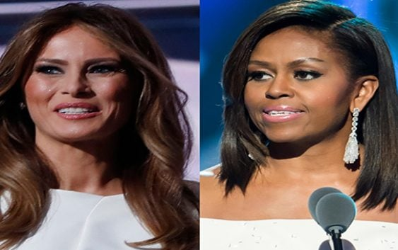 Sin ningún recato Melania Trump plagia a Michelle Obama