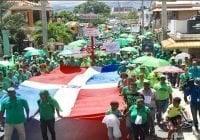 Marcha Verde de Bonao advierte sobre Pacto Eléctrico; exige procesar senador Nova; Vídeo