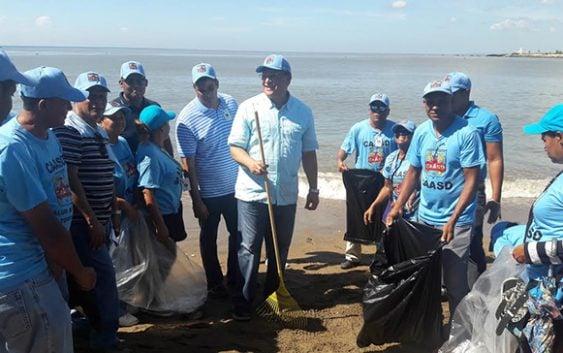 Alejandro Montás: CAASD cumple con mantener limpia ribera de ríos y reforestar