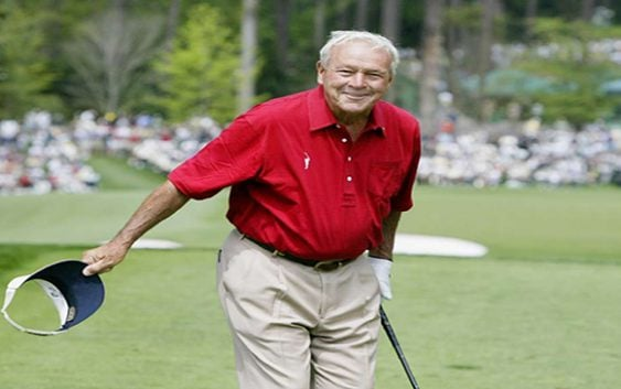 Adios a la leyenda del golf Arnold Palmer
