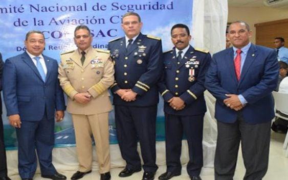 Comandante General FARD acompaña Ministro de Defensa en reunión Conasac