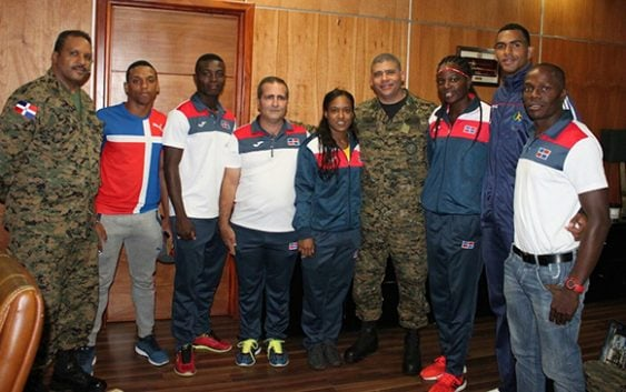Comandante General Ejército recibió atletas participaron en Río