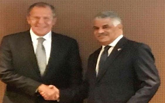 Canciller Miguel Vargas preside reunión CELAC con su colega ruso Lavrov