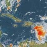 El Centro Nacional de Huracanes informa sobre un sistema de baja presión
