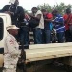 Detienen en Dajabón 12 haitianos viajaban con carnés falsos
