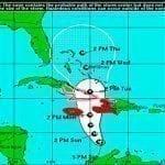 Huracán Matthew: Jamaica y Haití, hoy; Cuba y Bahamas, mañana y RD lluvias