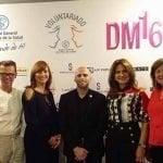 Diseñador Moisés Quesada en DM16 a favor Voluntariado Plaza de la Salud