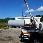 MIDE inicia desmantelamiento tanques distribución combustible