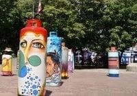 Tropigas participa exposición colectiva que exhibe lado creativo del arte