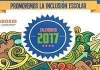 Asociación de Síndrome de Down dedica calendario 2017 a inclusión escolar
