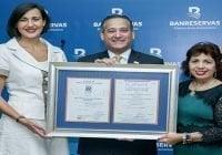 Banreservas recibe certificación ISO 9001:2015