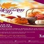 Crowne Plaza presenta propuesta Día de Acción de Gracias (Thanksgiving)