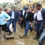Danilo garantiza gobierno auxiliará todos los afectados por las lluvias