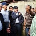 Presidente Medina visita lugares afectados por las lluvias; Vídeo