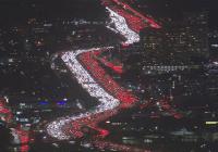 Impresionante: Vídeo de ABC7 muestra transito por Día de Acción de Gracias