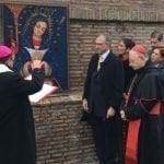 Bendicen Virgen de la Altagracia en los Jardines del Vaticano