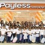 Payless brinda motivos de alegría a cientos de niños