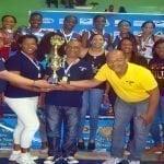 Madre Vieja campeón Torneo Superior de Voleibol de escuela Evocarr