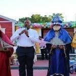 Alcalde SDE celebra el día de Los Santos Reyes Magos
