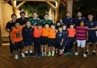 Punta Cana International School recibe al FCB Escola
