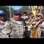 Vídeos: Hace un año y reciente pidiendo vía Ranchadero; Banda dañan propiedades