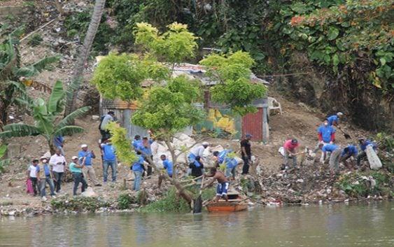 Alcaldía del DN realiza operativo de limpieza en ríos Ozama e Isabela