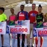 Jorge Beltré y Soranyi Rodríguez campeones del IV Carrera Carrefour 10K