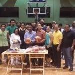 Ministro de Deportes entrega útiles al Club San Carlos