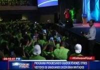 Progresando lleva no estudiaron, igual que Roberto Salcedo en Quisqueya; Vídeos