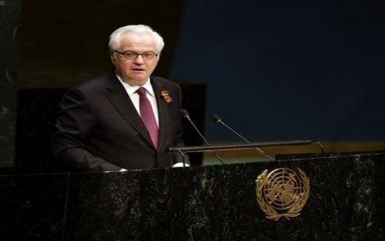 Nueva York: Sorprende muerte repentina embajador ruso ante ONU