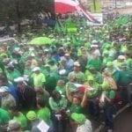 Multitudinaria participación Marcha Verde en Puerto Plata