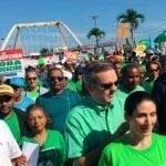 Luis Abinader: «Si es ilegal marchar, que vengan a buscarme preso»