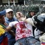 Que inverecundos: Horda venezolana pide respeto de los derechos humanos en Honduras
